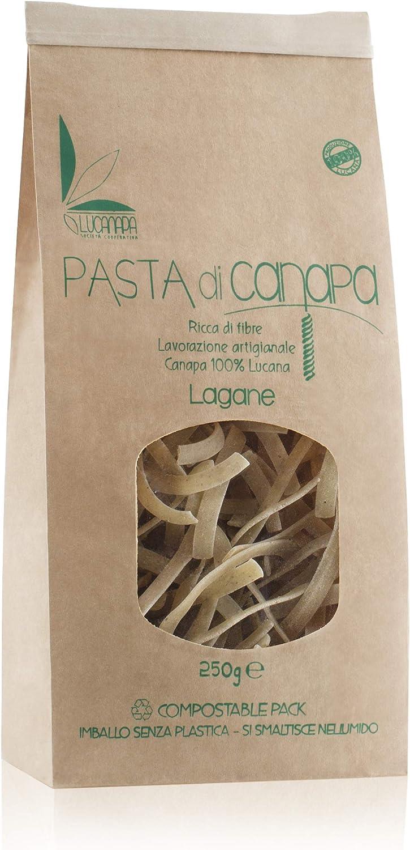 Pasta con harina de semillas de cáñamo – Formato Lagane – Paquete de 250 g