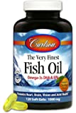 Carlson labs very finest fish oil lemon for Carlson norwegian fish oil