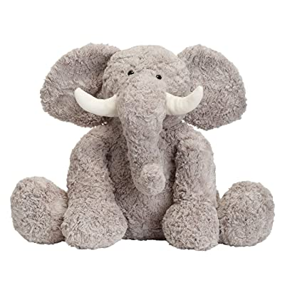 JOON Bobo The Elephant Stuffed Animal, Grey, 15 Inches: Toys & Games