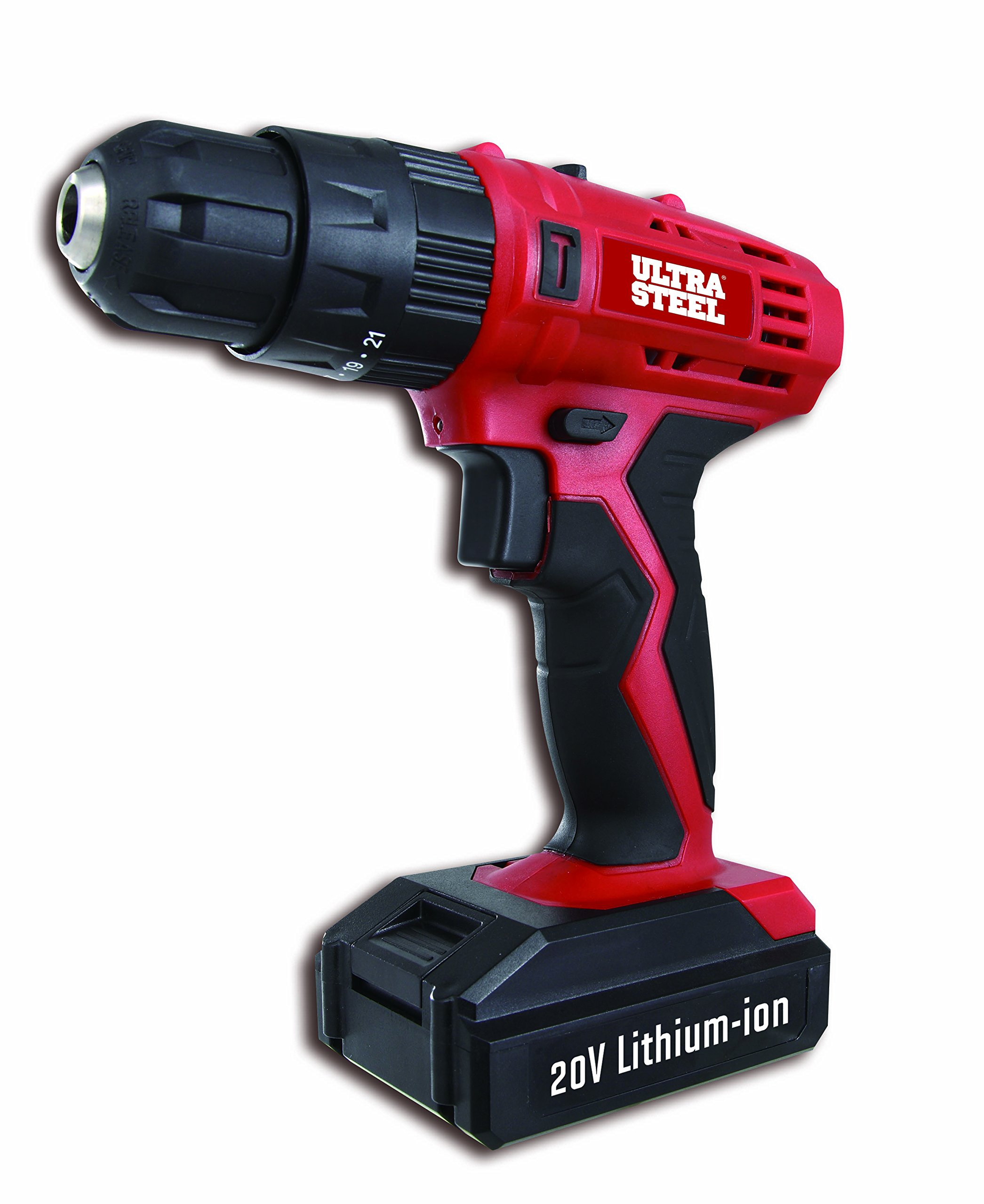 Ultra Steel 18V Ni-Cd Lithium 3/8'' 2-Speed Cordless Impact Drill