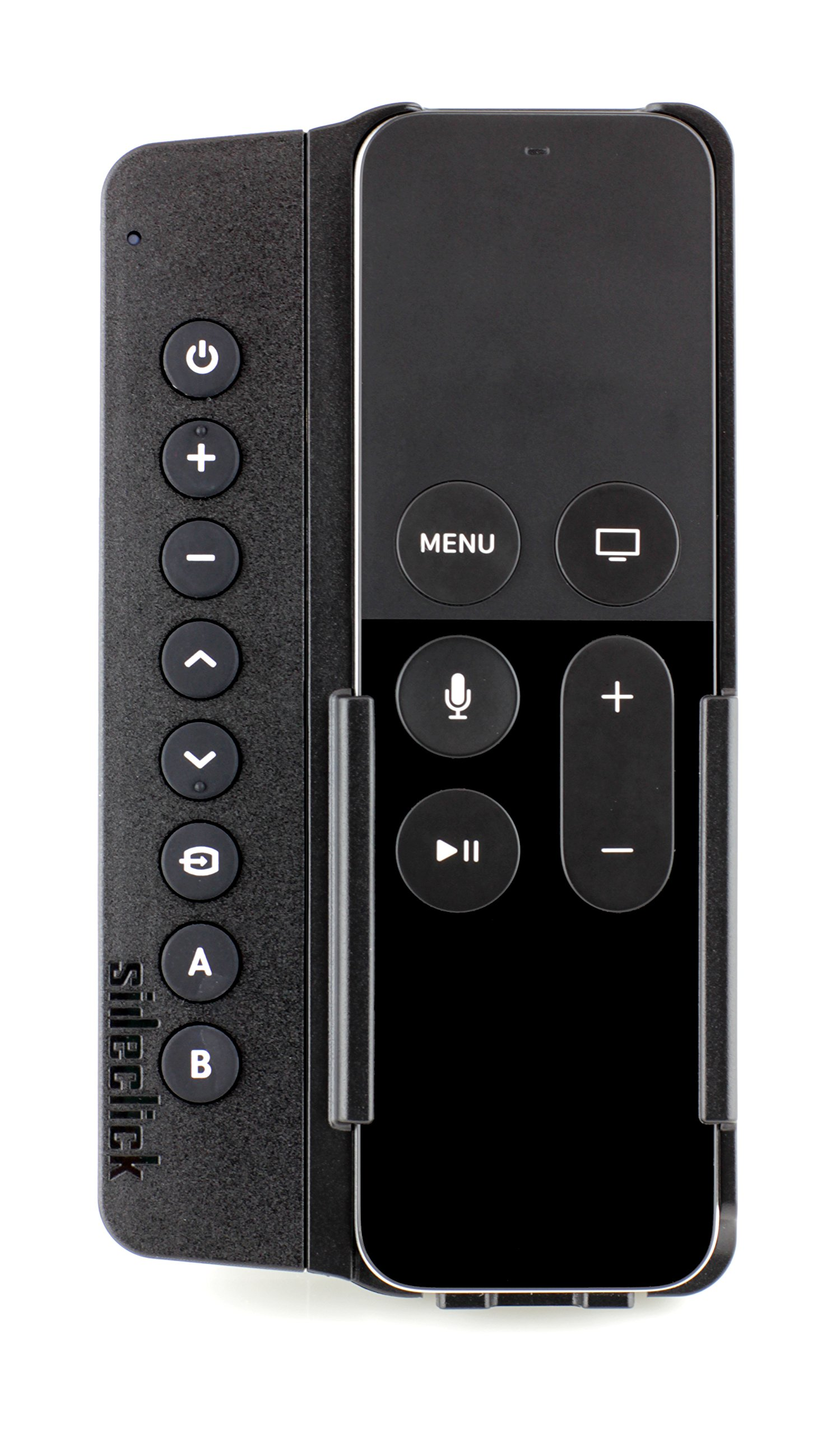 Sideclick Remotes SC2-APG34K Universal Remote Attachment for Apple TV Gen 2-5