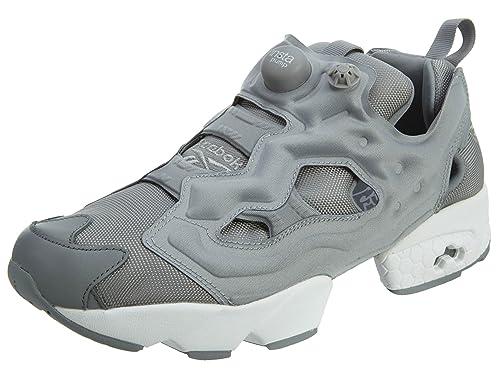 96407185a51 Reebok Instapump Fury Og Mens Grey White 7.5 D(M) US  Amazon.in  Shoes    Handbags