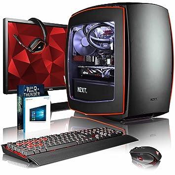 VIBOX Atom GM550T-116 Gaming PC Ordenador de sobremesa con Cupón de Juego, Win