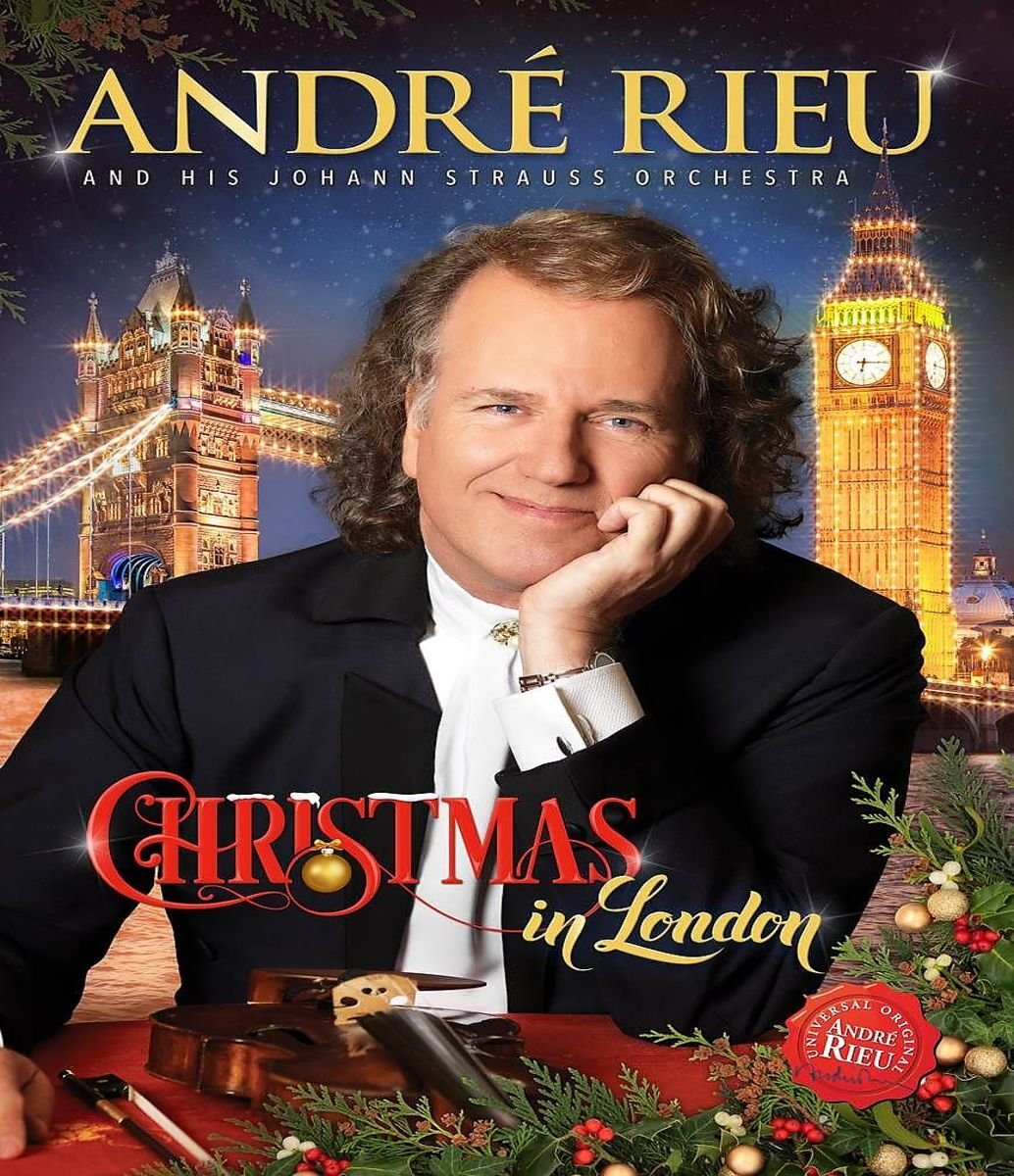 Andre Rieu – Christmas In London (2016) 720p+1080p MBluRay x264-TREBLE