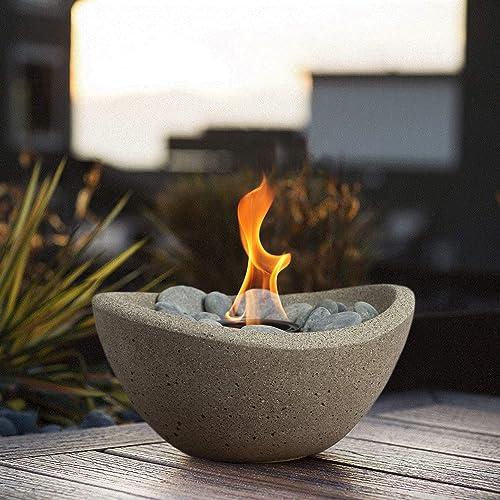Terra Flame OD-TT-WAV-BGE-03N Fire Bowl