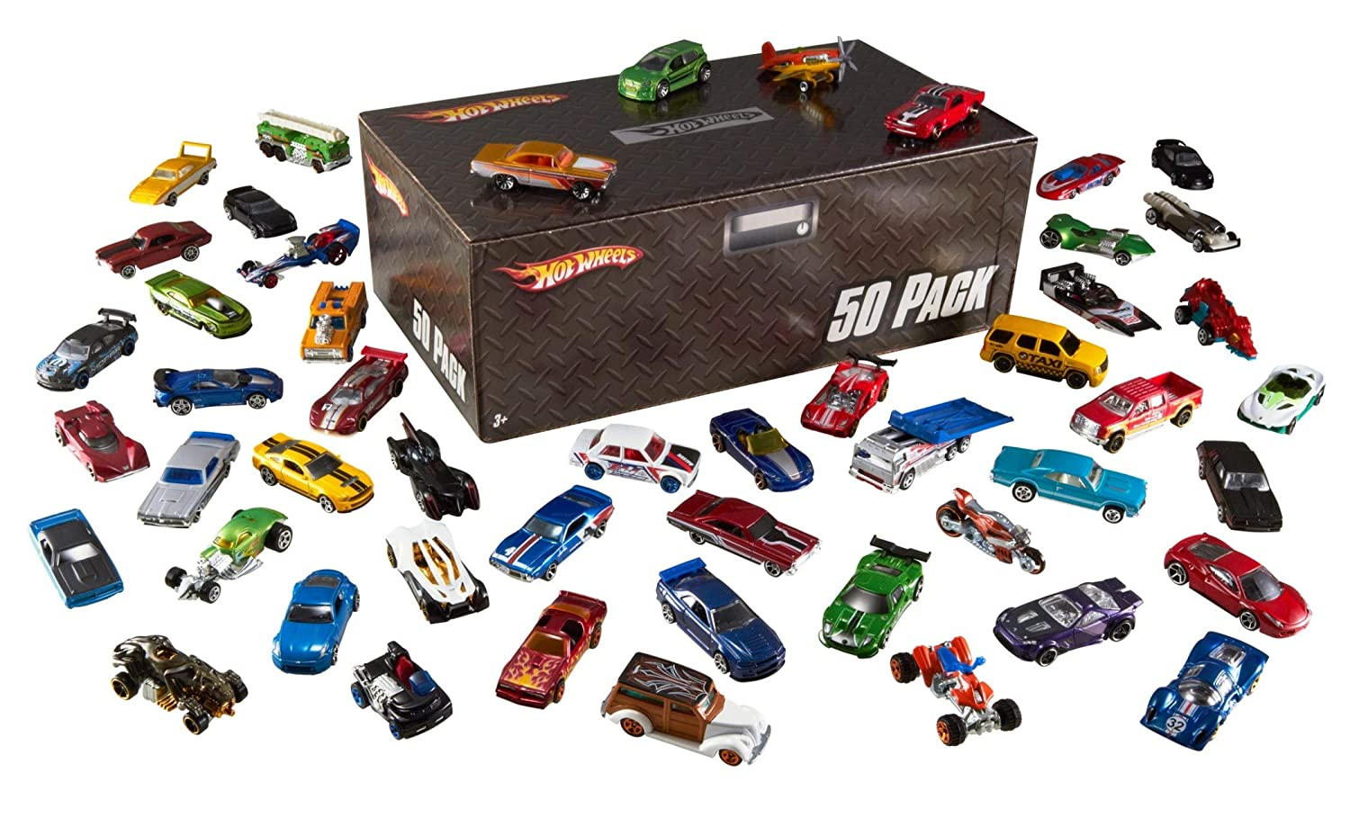 Hot Wheels Basic Car 50-Pack (Packaging May Vary) Mattel V6697
