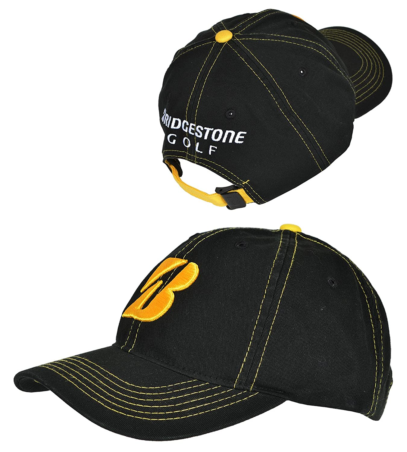 Amazon.com  Men s Bridgestone Precept Contrast Stitch Team Colors Cap   Sports   Outdoors d6e0e89000f