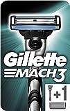 Gillette Mach3Razor for Men + 1Blade–Pack of 1
