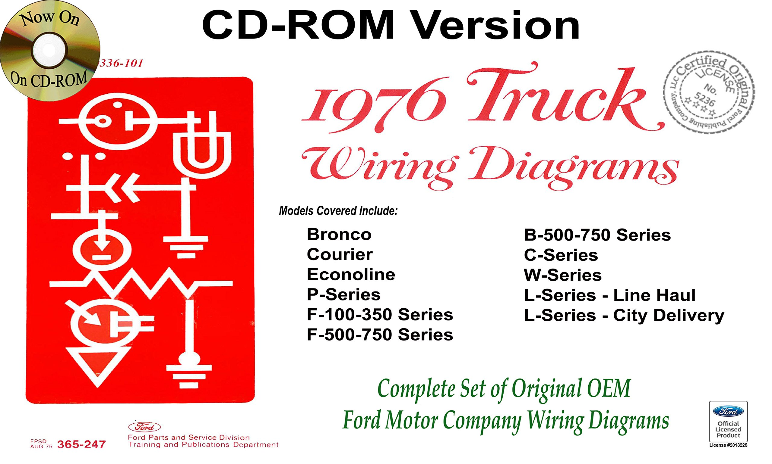 Buy 1976 Ford Truck Wiring Diagrams Book Online At Low Courier Prices In India Reviews Ratings