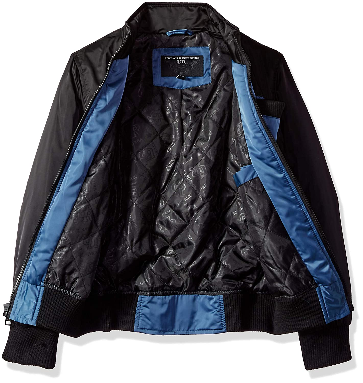 Urban Republic Boys Heavy Poly Satin Jacket
