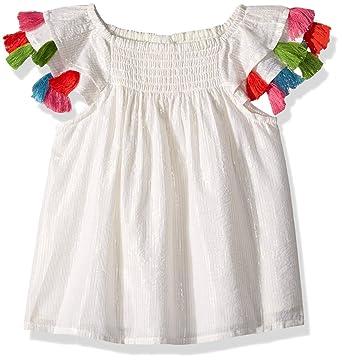 4c58b7d25c12 Amazon.com  Masala Baby Baby Girls Sundancer Dress Metallic Stripe ...