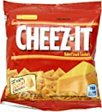 Kellogg's Cheez-It Baked Snack OMkYL Crackers - Original - 36 Count (Pack of 2)
