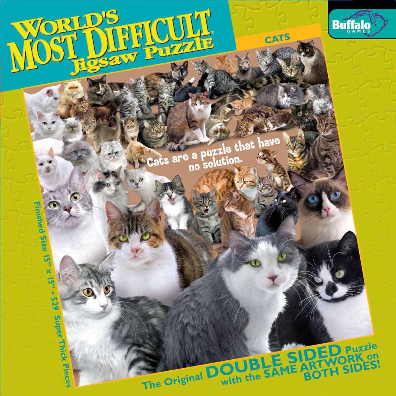 008582 - Más difíciles rompecabezas Cat 500 piezas, 500 piezas [importado de Alemania]