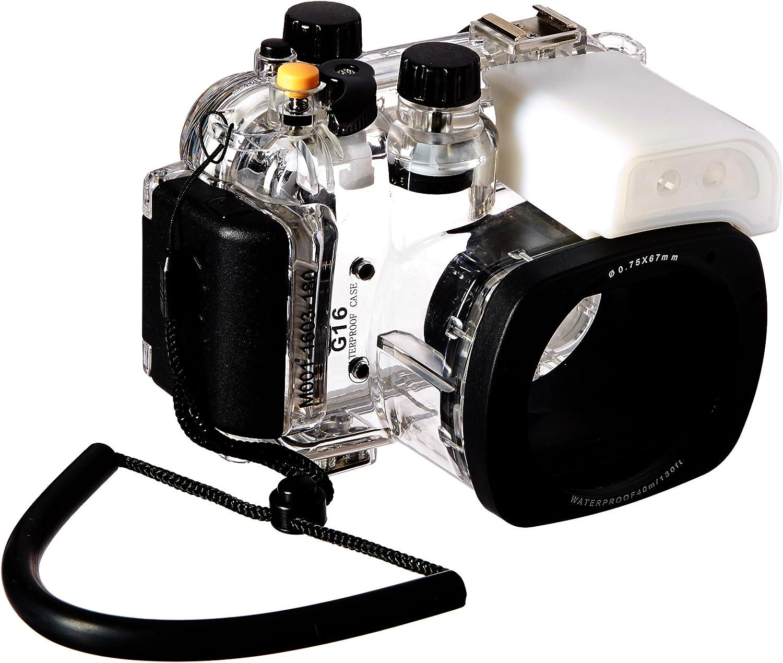 Polaroid SLR - Carcasa Impermeable para cámara Digital Canon G16 ...