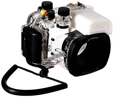 Polaroid SLR - Carcasa Impermeable para cámara Digital Canon G16