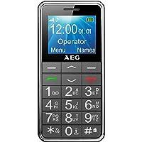 AEG Voxtel M250 - Téléphone Portable Débloqué avec Grandes Touches et Bouton SOS