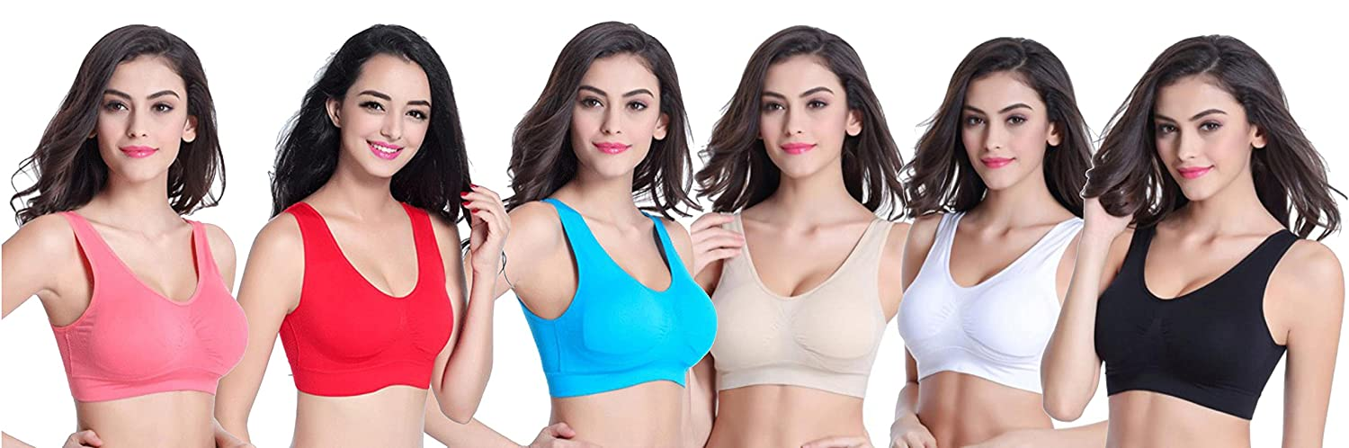 BRIVA Women s Cotton Lycra Bra (Assorted eacb53419