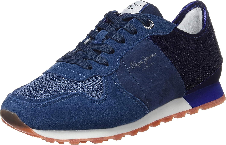 Pepe Jeans Verona W New Sequins 2, Zapatillas para Mujer