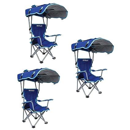 Awesome Amazon Com Kelsyus Kids Original Canopy Folding Backpack Customarchery Wood Chair Design Ideas Customarcherynet