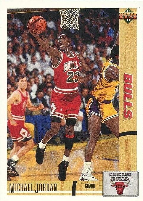 1991-92 cubierta superior de Michael Jordan #44 Tarjeta de ...