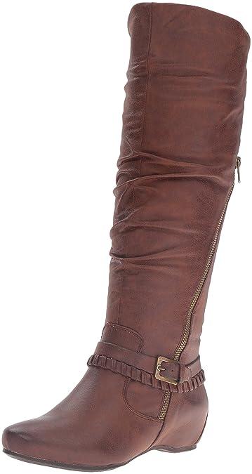 938039e26414 BareTraps Women s Bt Shania Riding Boot Brush Brown 8 US 8 M US