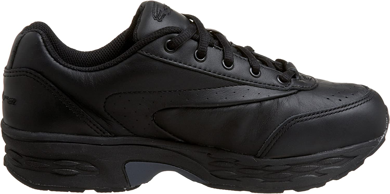 SPIRA Women's Classic Leather Walking Shoe Black/Black