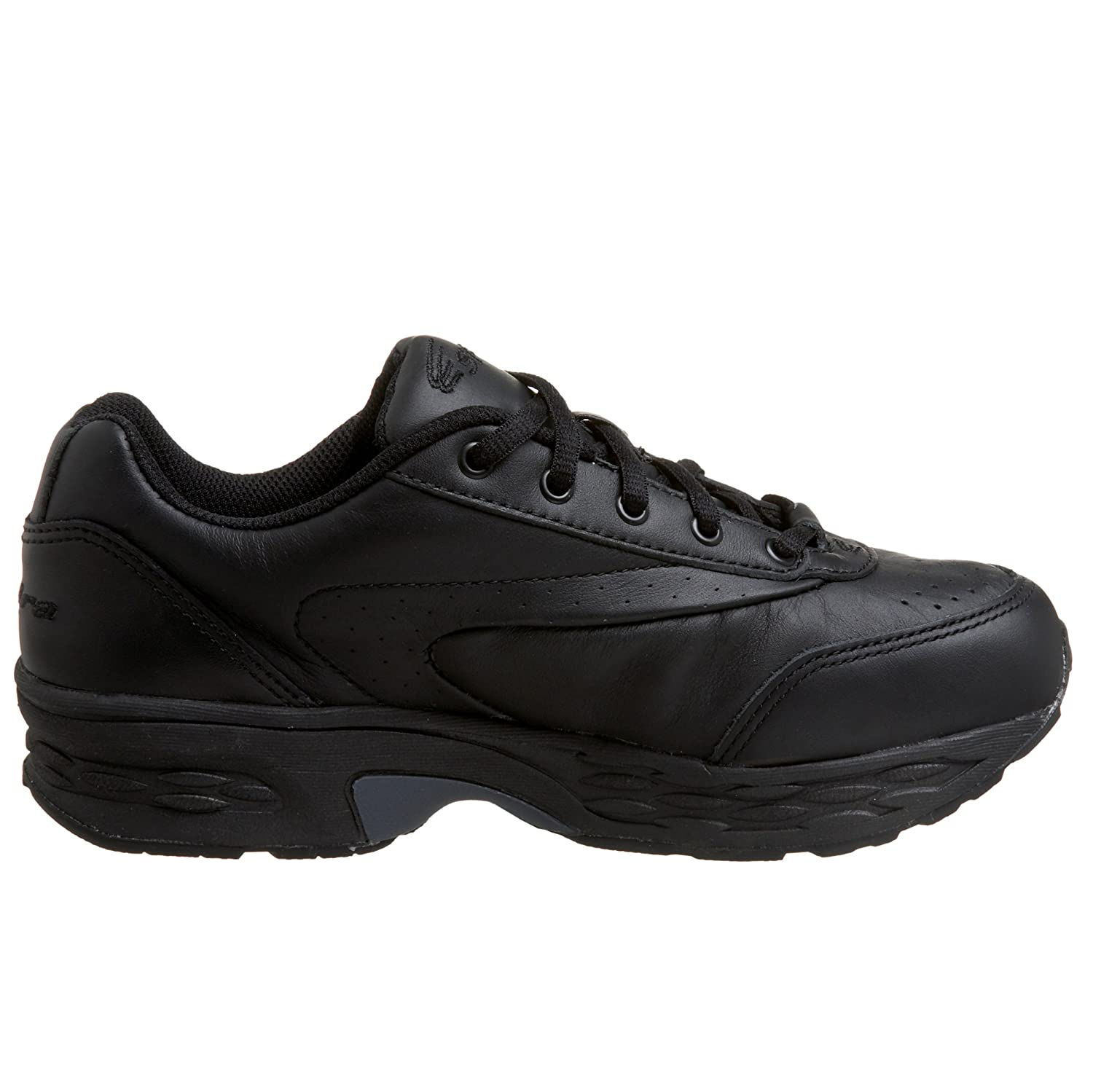 Spira Women's Classic Leather Walking Shoe B000CECLEM 11 B(M) US|Black/Black