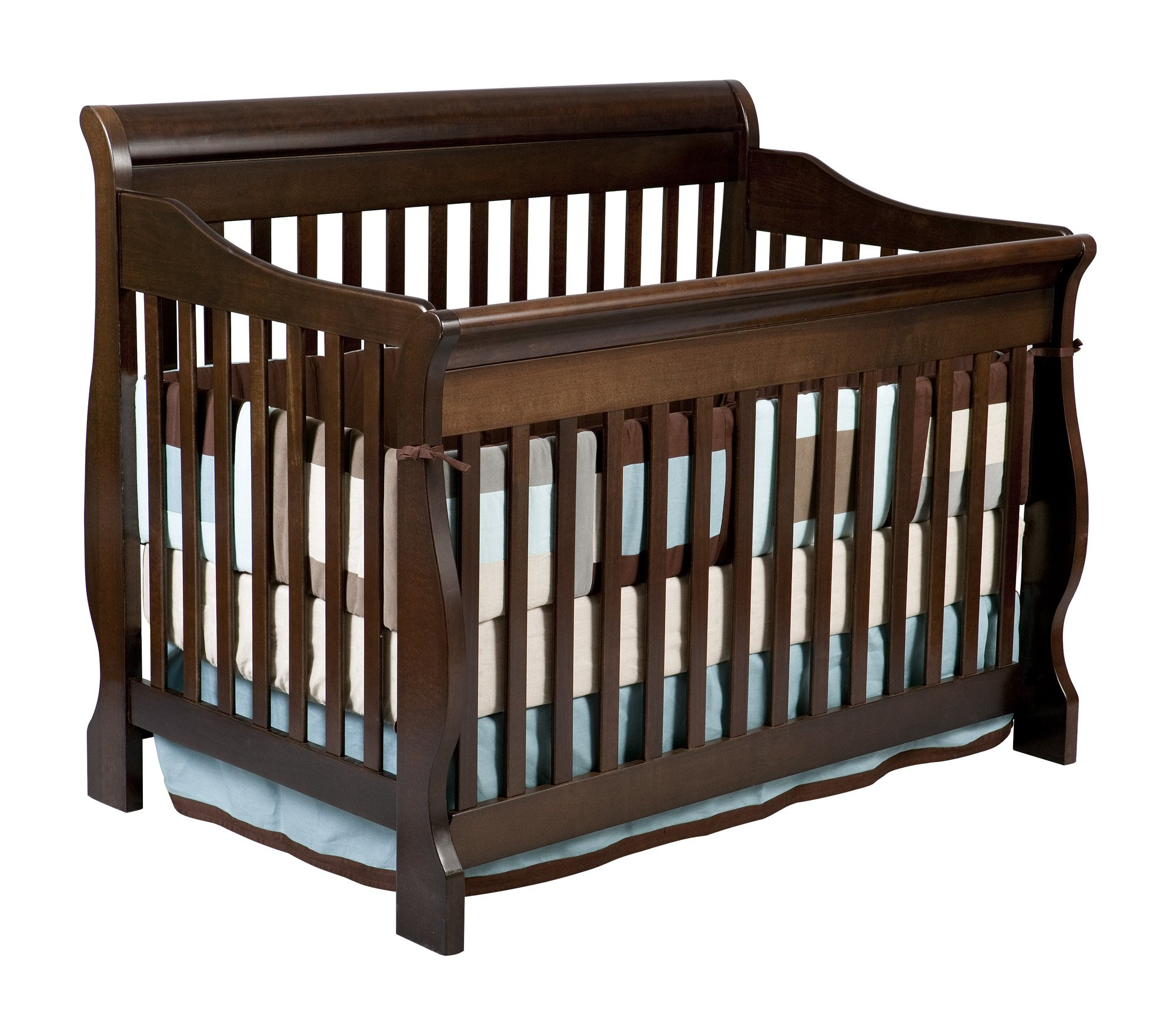 Delta Children Canton 4-in-1 Convertible Crib, Espresso Cherry by Delta Children (Image #2)
