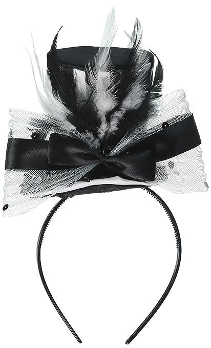 Image Unavailable. Image not available for. Color  Loftus International  Halloween Steampunk Fancy Mini Top Hat Headband ... 723da8ebc96