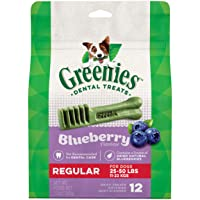 Greenies Blueberry Natural Dental Dog Treat