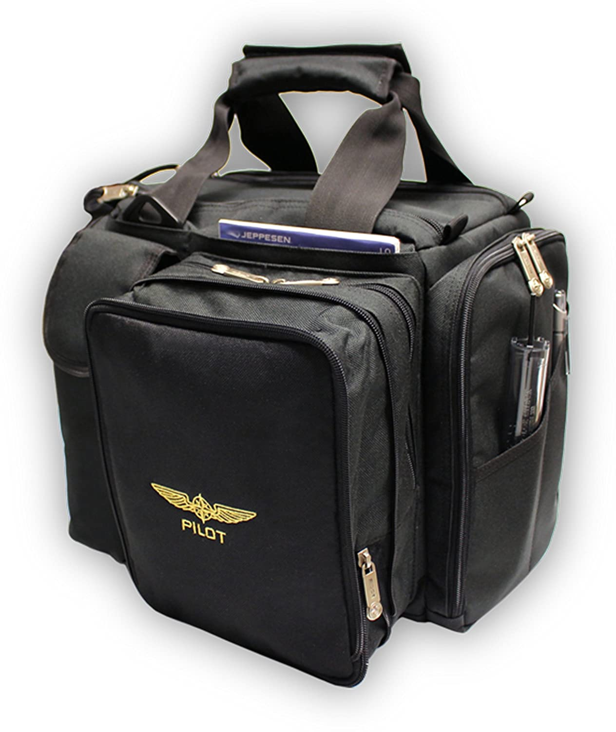 Design4Pilots - cross country Pilot bolsa de vuelo con funda de pilotos de la aviación Crosscountry