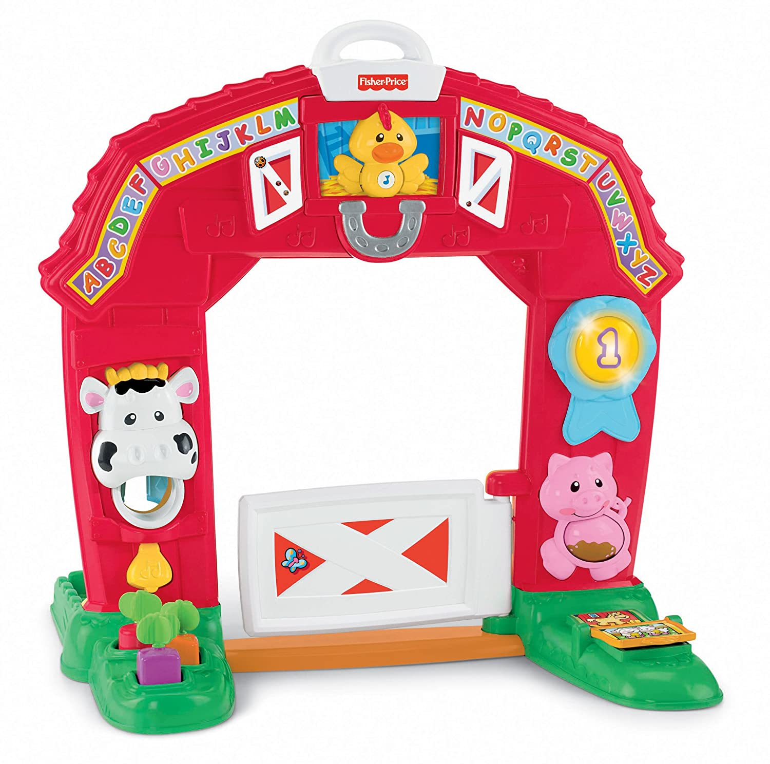 Amazon.com: Fisher-Price Laugh & Learn Learning Farm: Toys & Games