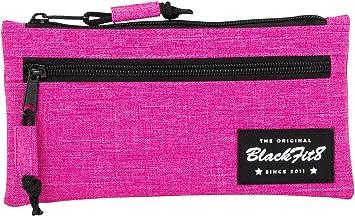 Blackfit8-Blackfit8-Estuche portatodo Dos Cremalleras, 841732029, Color Rosa, 22 cm (SAFTA: Amazon.es: Juguetes y juegos