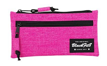 Amazon.com: Blackfit8 – Estuche portatodo Two Zips, Pink ...