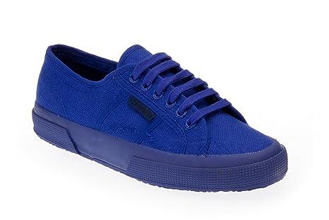 Superga 2750 COTU CLASSIC TOTAL Bright Blue Scarpe Sneaker Blu