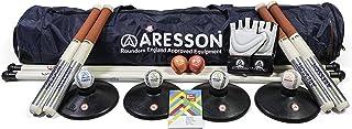 Aresson Club Rounders - Set da Rouders (simile a baseball) per adulto, colore: Blu/Nero/Rosso ASR960