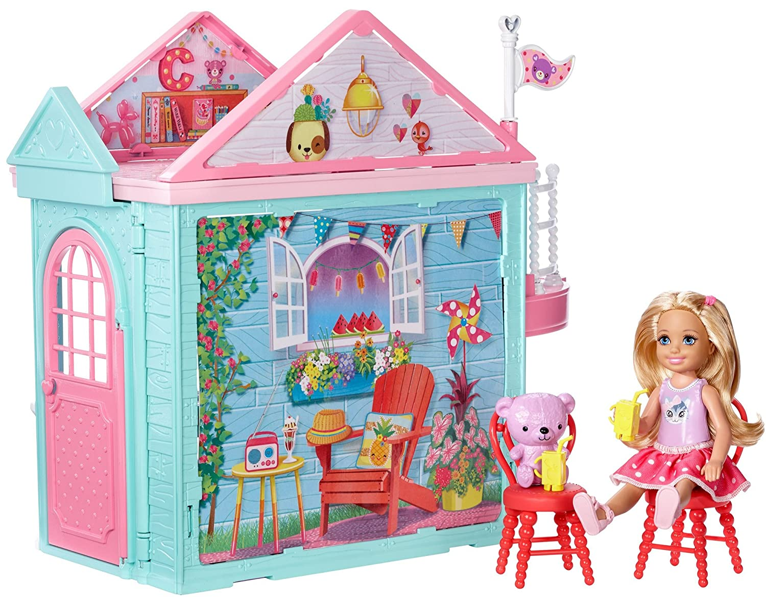 Amazon.com: Barbie Club Chelsea Clubhouse: Toys & Games