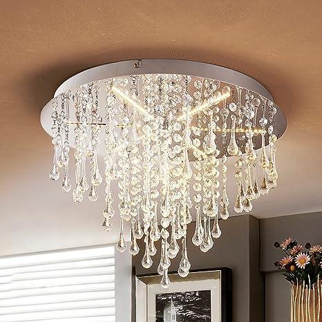 Lámpara LED de techo con lágrimas en forma gota - Lámpara ...