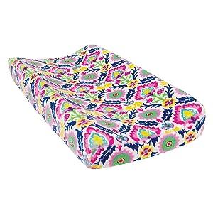 Waverly Santa Maria Plush Changing Pad Cover