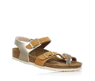 13a34fce8cf Birkenstock Taormina Girls Two Tone Sandals  Amazon.co.uk  Shoes   Bags