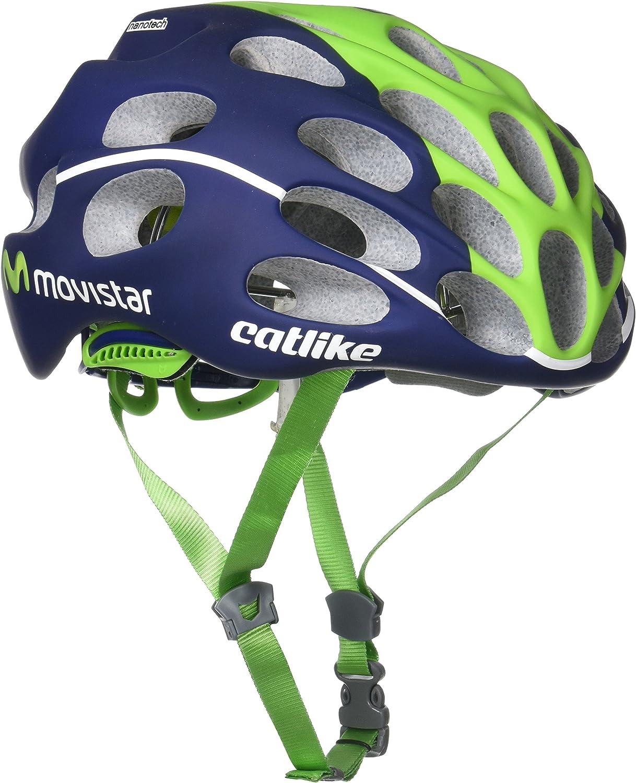 Catlike Mixino Casco de Bicicleta Movistar Talla L: Amazon.es ...