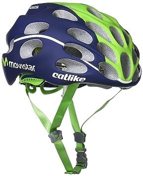Catlike Mixino Casco de Bicicleta Movistar Talla M