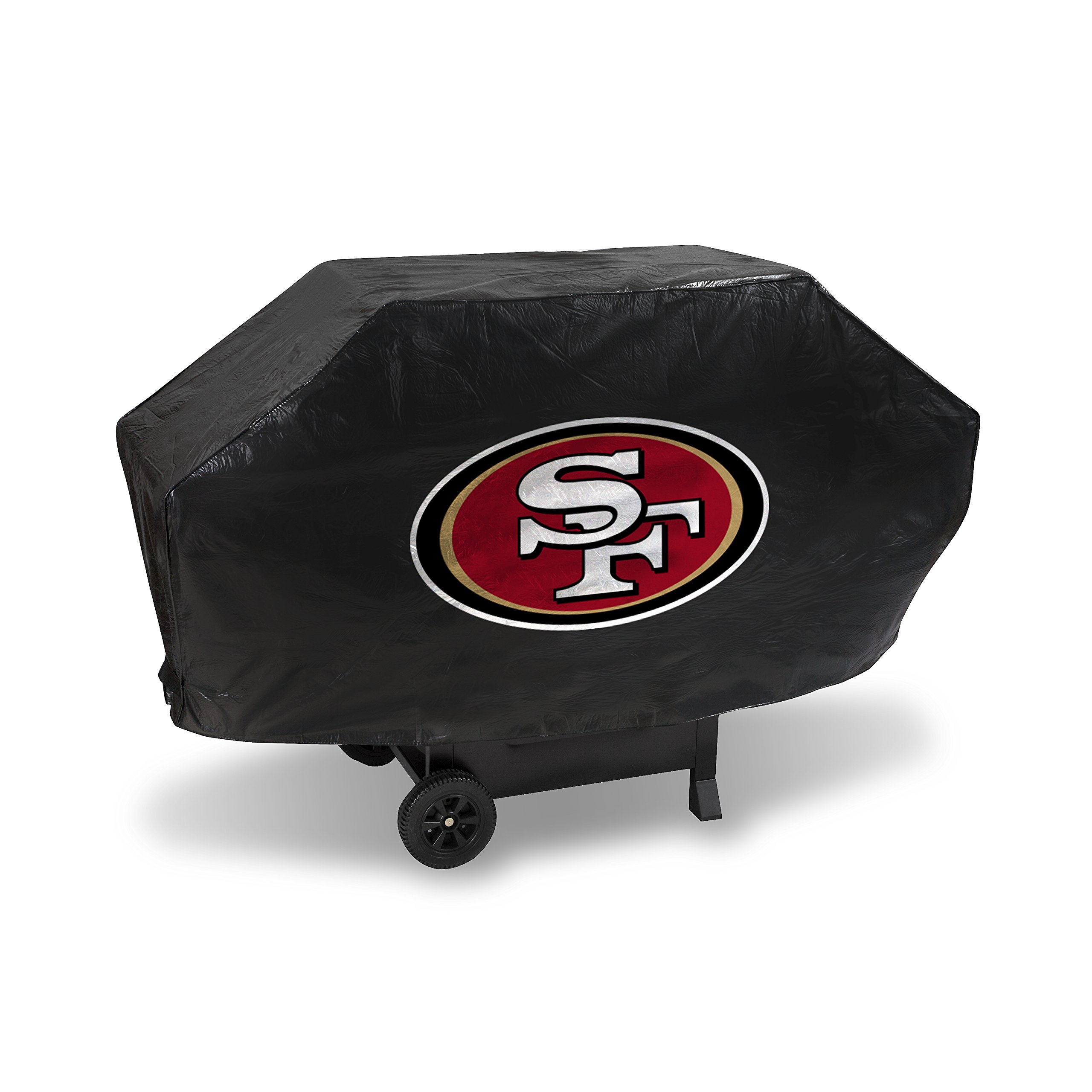 Rico Industries NFL San Francisco 49ers Vinyl Padded Deluxe Grill Cover
