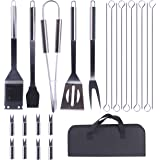 Airead Grill Barbecue Tool Set for Camping, Grill Set Stainless Steel BBQ Gift Grilling Gift for Men Grill Accessories for Ou