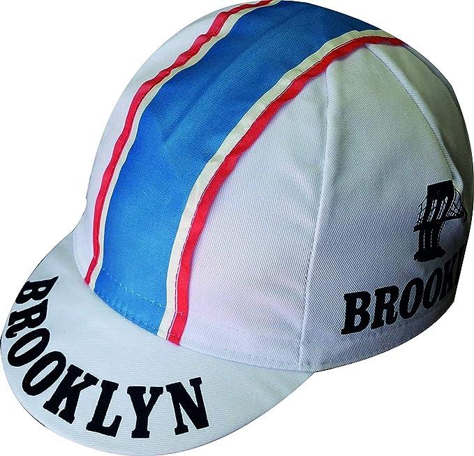 Apis Gorra Ciclismo Team Vintage Brooklyn Blanco Cycling Cap Hot ...