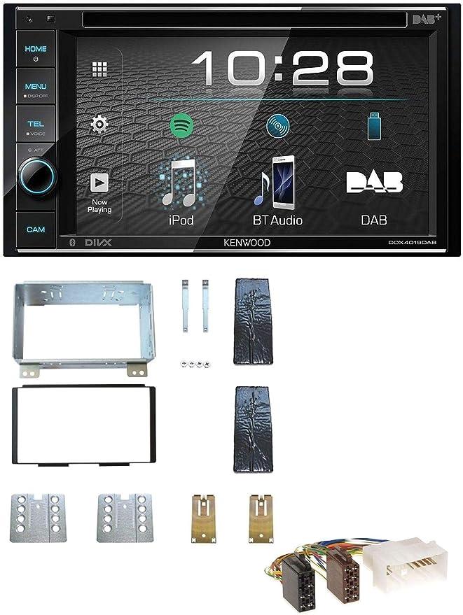KIA Carnival II vq 2006-10//2011 DOUBLE DIN façade radio 2-din radio voiture support