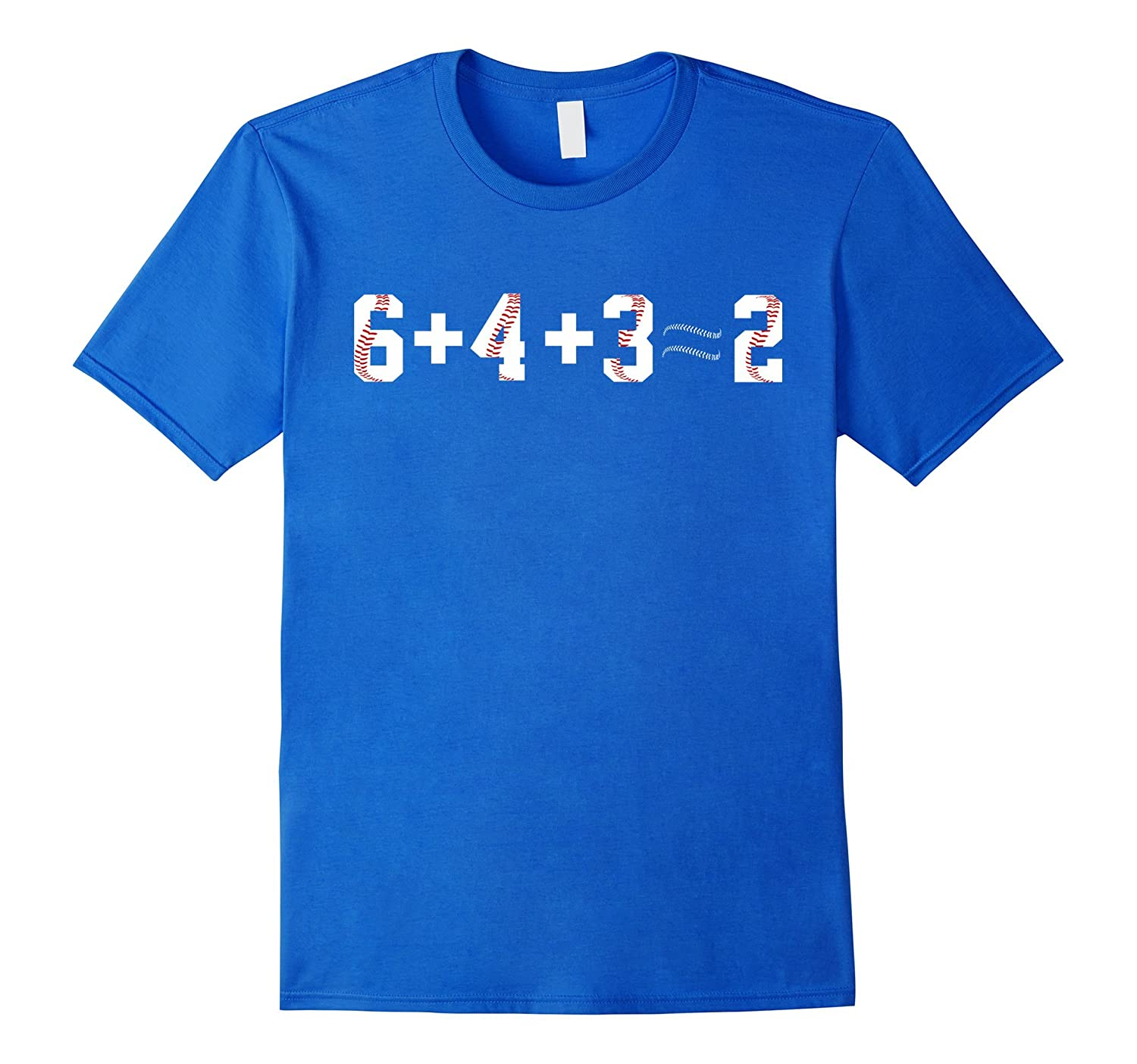 %6432 Baseball Shirt & 6 + 4 + 3 = 2 Baseball Funny Gift-TH