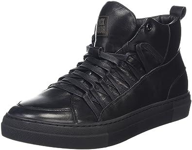 KABEN, Sneakers Hautes Homme - Noir - Noir (Black), 44Black Kaviar
