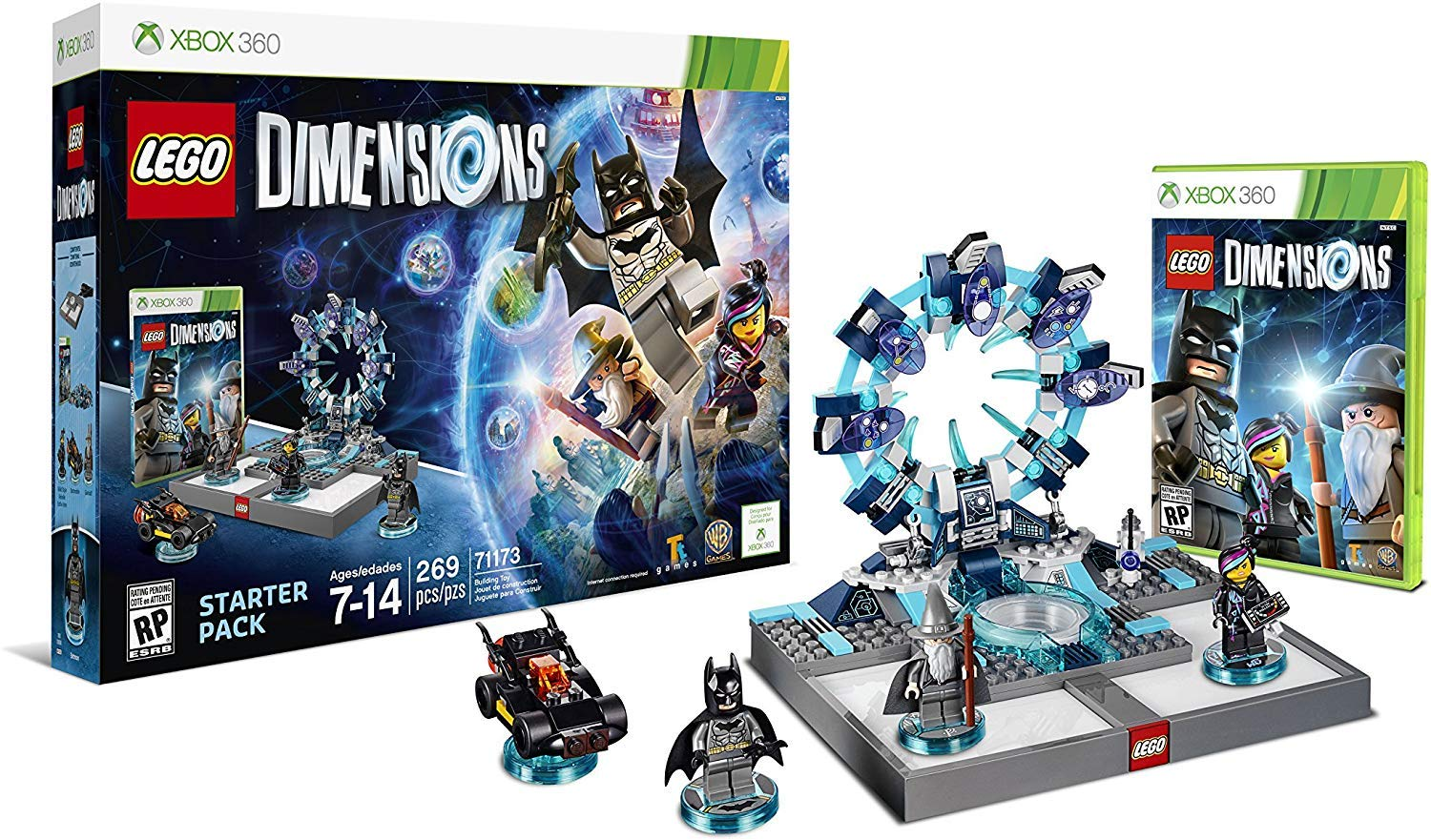 Amazon Com Lego Dimensions Starter Pack Xbox 360 Lego Dimensions Starter Pack Video Games