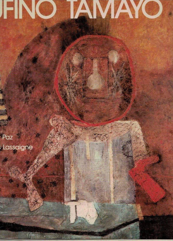 MEXICAN ART BOOK RUFINO TAMAYO